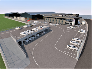 Read more about the article Bygma starts building a new distribution center in Copenhagen